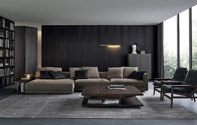 Decorar El Salón Con Un Sofá Chaise Longue Wikidecoracion