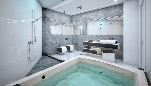 Ganar espacio en baños