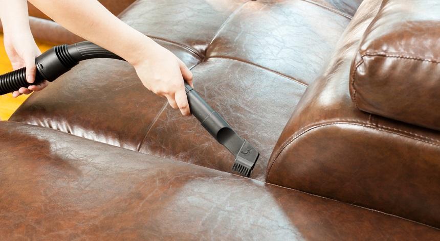 Cómo limpiar un sofa de piel